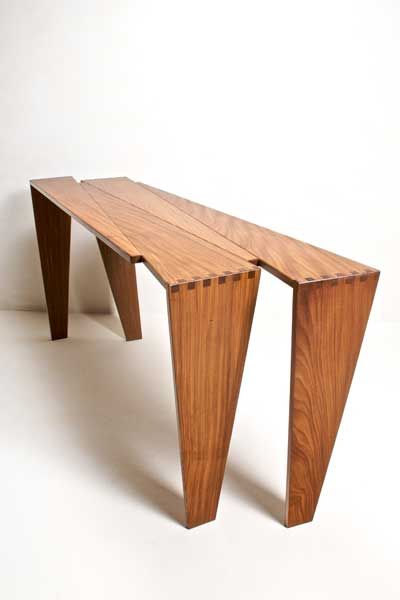Pieces Console Table By Allen Miesner
